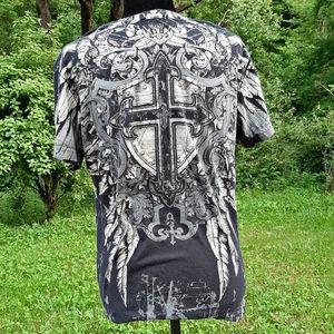 [Archaic] Mens graphic print t-shirt.